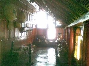 Bagian Timur Seuramoe Likot yang berfungsi sebagai dapur