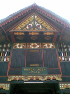 Jenis Ragam Hias yang terdapat pada Tolak Angin Rumoh Aceh