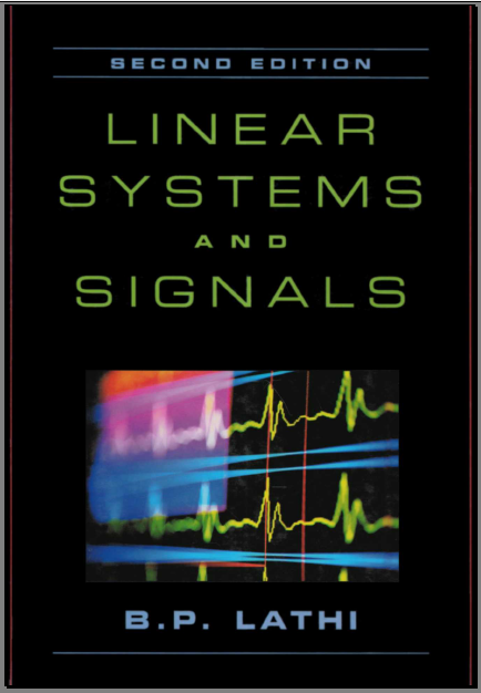 linear signals and systems lathi solution manual second edition